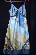 "MUCHACHAS.Neuve!Merveilleuse robe ""nuisette-combinaison"" boho chic multicolore"