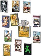 Benzin-Feuerzeug, Sturmfeuerzeug, Retro-Motive, Nostalgie, Werbung