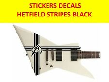 HETFIELD STRIPES  METALLICA BLACK STICKERS VISIT OUR STORE WITH MANY MORE MODELS