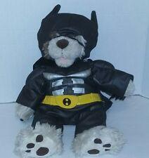 Babw- Original Build A Bear Outfit- Batman Suit & Mask Clothes and Bear Lot