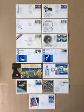 1960-1989 SPACE / ROCKET Assorted FDC Lot of 13, (please see description)