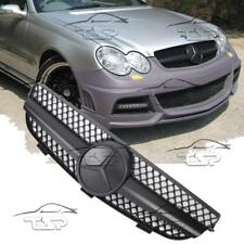FRONT FULL MATT GRILL FOR MERCEDES CLK C209 W209 02-09 AMG LOOK 209061-M