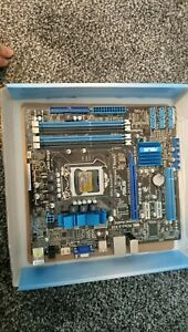 ASUS P7H55-M, LGA 1156/Socket H, Intel Motherboard