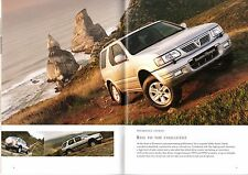Vauxhall Frontera 2002 UK Market Sales Brochure Sport RS Estate Limited Olympus