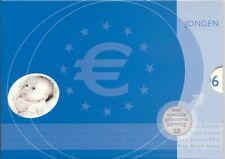 Nederland,Officiële Jaarlijkse BU Euro muntenset 2006 Geboorteset Jongen (MT593)