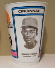 George Foster Cincinnati Reds 1978 7-11 Slurpee Cup