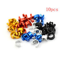 10Pcs Bicycle C-Clips Buckle Hose Brake Gear Road Cycling Cable Housing OJ