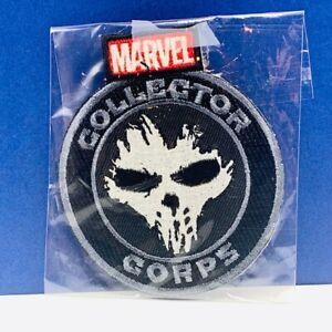 Marvel comics patch superhero Avengers funko pop collector corps Punisher skull
