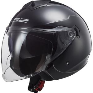 Casco LS2 Helmet Twister II OF573 - Gloss Black