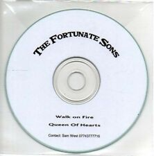 (AB499) The Fortunate Sons, Walk On Fire - DJ CD