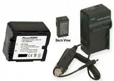 Battery + Charger for Panasonic HDC-TM10GK HDC-TM15 HDC-TM700 HDC-TM700K TM700P