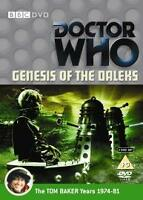Doctor Who: Genesis of the Daleks (2 x DVD)  Tom Baker as Dr Who BBC Sci-Fi NEW!