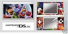 Nintendo DS or DS Lite  THE MUPPETS Vinyl Skin Sticker
