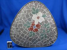 "50´s Mid Century design mosaico tavolo grondaie/Table renale tavolo ""Flowers"""