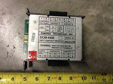 Control Technology Inc DCM-4400 Dry Contact Module 120VAC