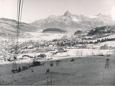 MEGÈVE c. 1940 - Panorama Station de Ski  Skieurs Haute-Savoie - NV 1238