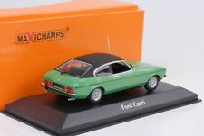1974 Ford Capri II Green Metallic 1:43 Maxichamps Minichamps