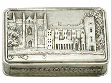 Sterling Silver Vinaigrette by Nathaniel Mills - Antique William IV