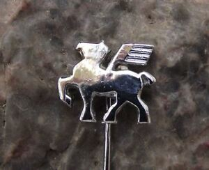 Antique Pegasus Winged Horse Greek Legend Mythical Creature Pin Badge