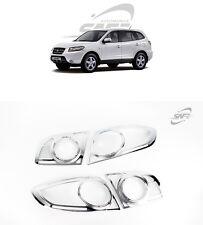 SAFE Chrome Rear Lamp Molding 4Pcs For Hyundai Santa Fe CM 2006 2010