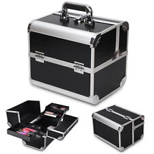 Make Up Box Extra Large Space Storage Nail Jewelry Cosmetic Vanity Beauty Case A