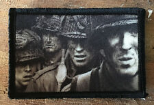 Band of Brothers Morale Patch Tactical Military Flag Badge Usa Wwii Hook Garand