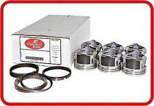 """94-99 Pontiac GrandPrix/GrandAm 3.1L OHV V6  """"M""""  (6)Dish Pistons & Moly Rings"""