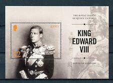 Jersey 2017 MNH King Edward VIII House of Windsor Victoria 1v M/S Royalty Stamps