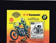 Guine-Bissau 1985 - Motorfiets/Motorcycles/Motorräder