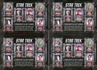 Star Trek TOS Archives and Inscriptions Laser Cut Villains set Redemption card
