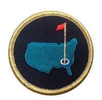 Gold Border Augusta Golf Master Tournament PGA Georgia State Ballcap Patch