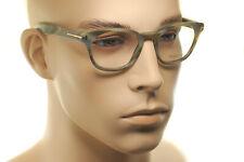TOM FORD FT5306 064 49mm Men MEDIUM Square Plastic Eyeglasses Frames GREEN BLACK