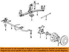 FORD OEM 00-05 Excursion Stabilizer Sway Bar-Front-Bushings YC3Z5484BA