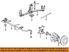 FORD OEM 00-05 Excursion Front Suspension-Shock Absorber AU2Z18V124BK