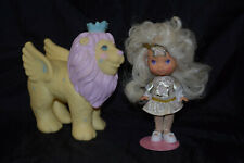 BITSY & ROARY ~ Moondreamers ~ Vintage ~ Moon Dreamers ~ Doll & Lion