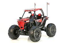 New Bright RC 1:5 Scale Polaris RZR ATV - Red XL Remote Control Toy Car 12.8V