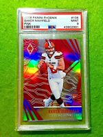 BAKER MAYFIELD PINK PRIZM ROOKIE CARD GRADED PSA 9 SP # /199 BROWNS 2018 Phoenix