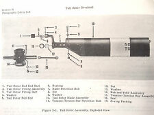 Hiller Helicopter UH-12E Tail Rotor Assembly 55044 Overhaul Manual