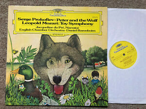 DGG 2531 275 JACQUELINE DU PRE Peter And The Wolf NM