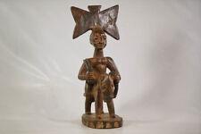 """Yoruba Shango Horse Rider Figure 22"""" - Nigeria - African Art"""