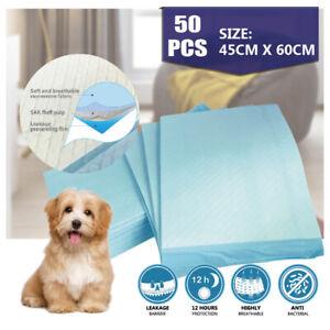 SecurePlus Puppy Dog Cat Pet Training Pad 45cm x 60cm 50 pcs high liquid absorb