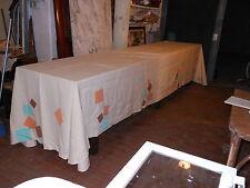 Tovaglia d'artista lino Picasso cm. 198x396 B3 Linen Tablecloth Nappe en lin ^