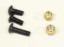 Standard Trigger Guard Upgrade Screw Kit 3 Screws and 2 Brass Inserts