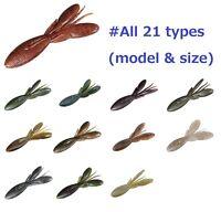 JACKALL soft bait FIVOSS worm lure 5pcs SET black bass fishing 21types