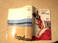 Bogner: I denti della volpe 1970 Omnibus Mondadori cover di FERENC PINTER