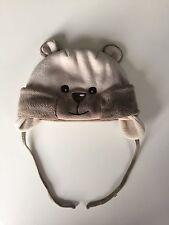 Süße Bärchen Mütze braun Bär für Baby Jungen Mädchen
