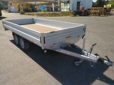 Pkw Anhänger Hochlader 2000 kg Humbaur HT 203116 innen 310 x 165 x 30 cm AKTION