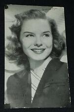 1945 - DIANA LYNN - MOVIE STAR /ACTRESS - AUTOGRAPH - POSTCARD - ORIGINAL