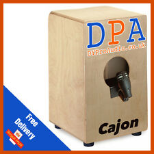 Cajon Cahon Drum Microphones Mic Kit & Clamp D606