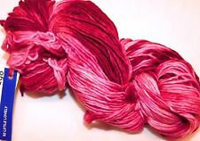 Light to Dark Pinks LITTLE LOVELY 210yd Skein Malabrigo WORSTED Merino Wool YARN